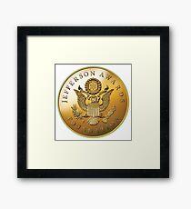 JAF Medallion Framed Print