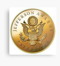 JAF Medallion Metal Print