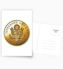 JAF Medallion Postcards