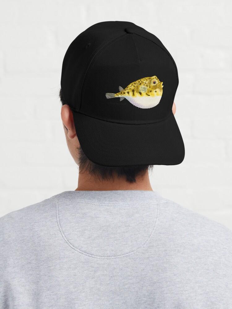 Alternate view of Pufferfish Cap