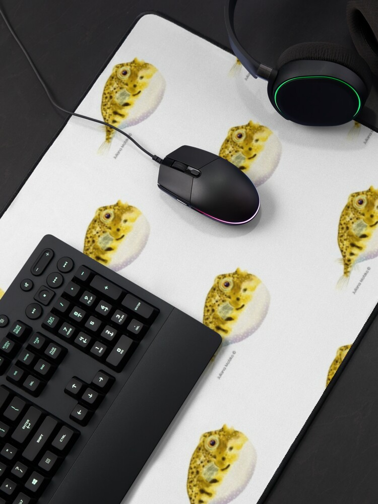 Alternate view of Pufferfish Mouse Pad