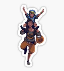 Ana - Trick or Treat Sticker