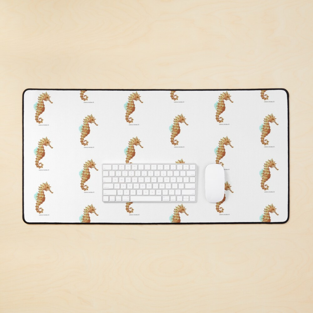 Japanese Seahorse Mouse Pad