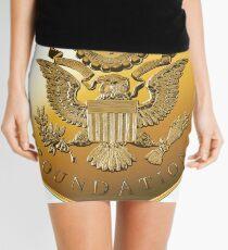 JAF Medallion Mini Skirt