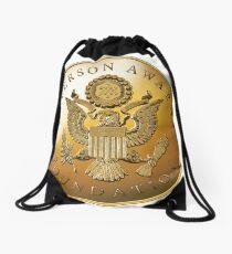 JAF Medallion Drawstring Bag