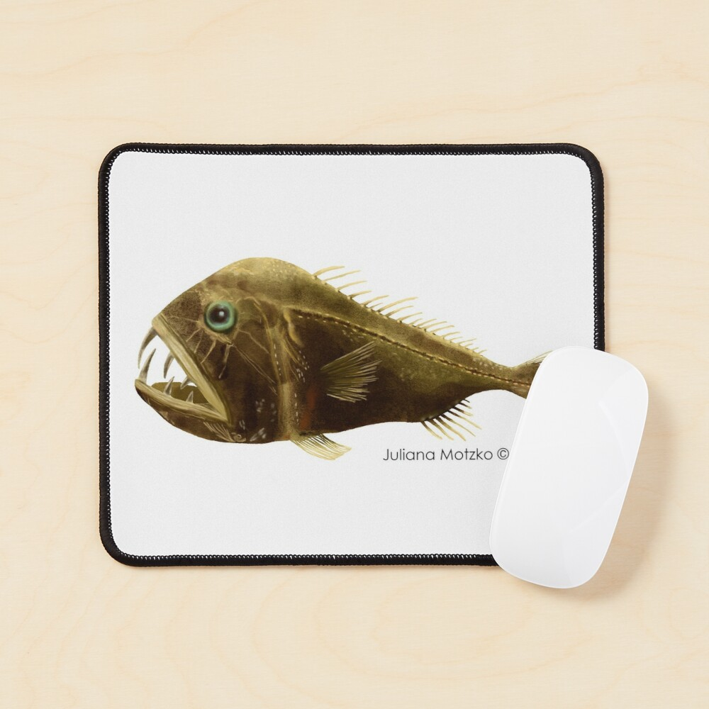 Fangtooth Fish Mouse Pad