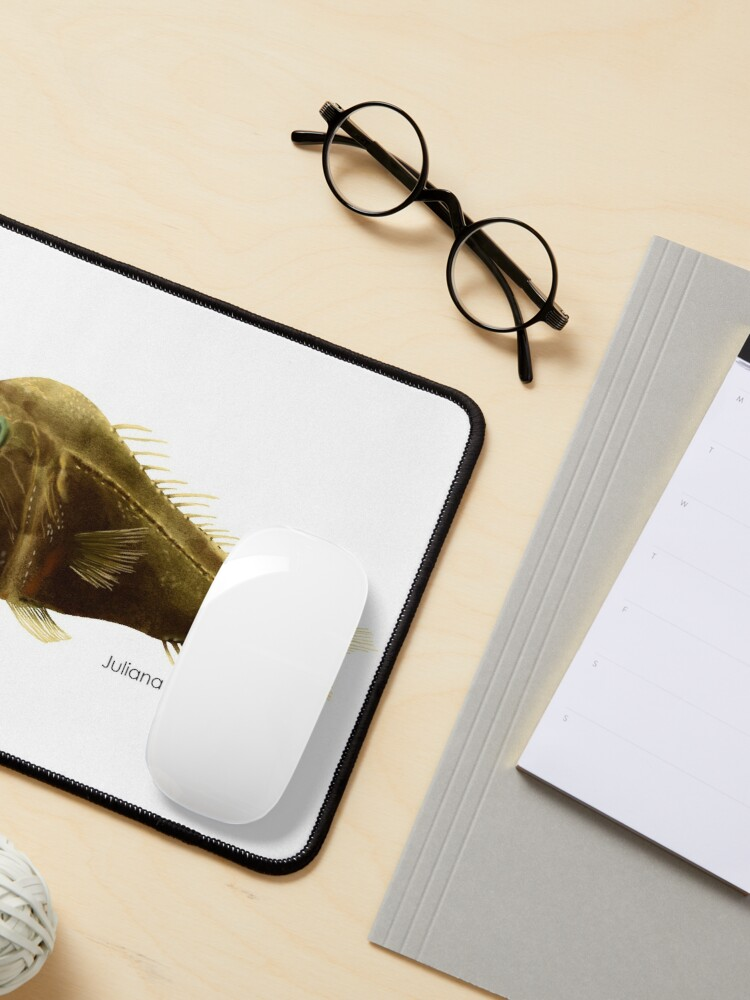 Alternate view of Fangtooth Fish Mouse Pad