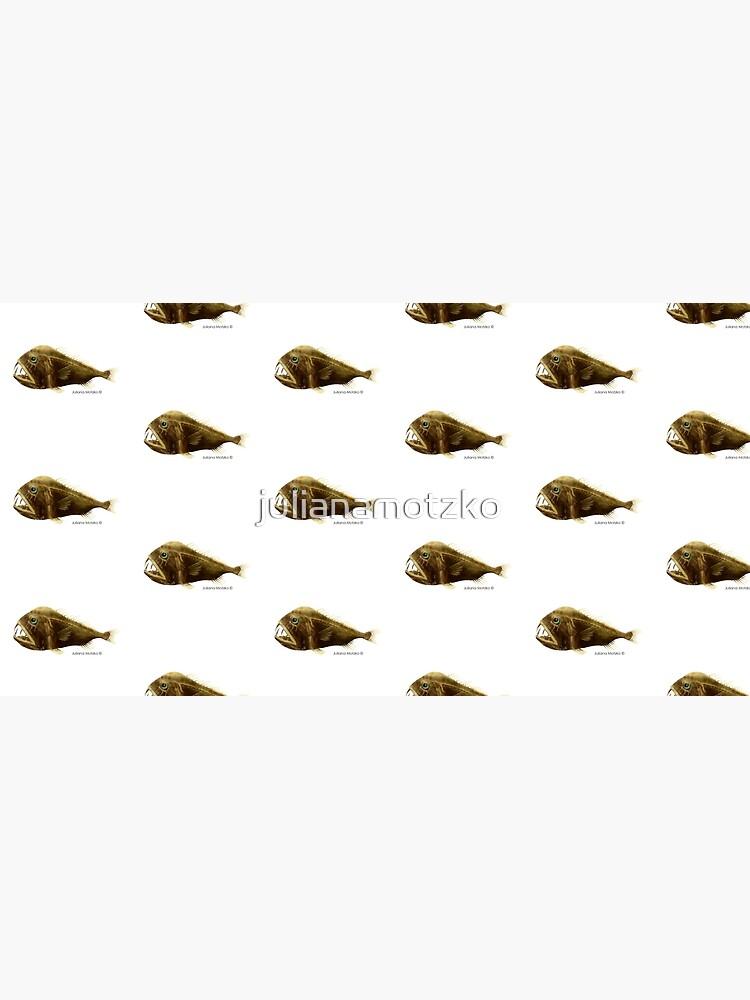 Fangtooth Fish by julianamotzko