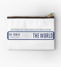We Power Those Who Change the World Studio Pouch