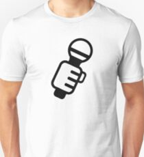 Microphone Music Singer T-Shirt