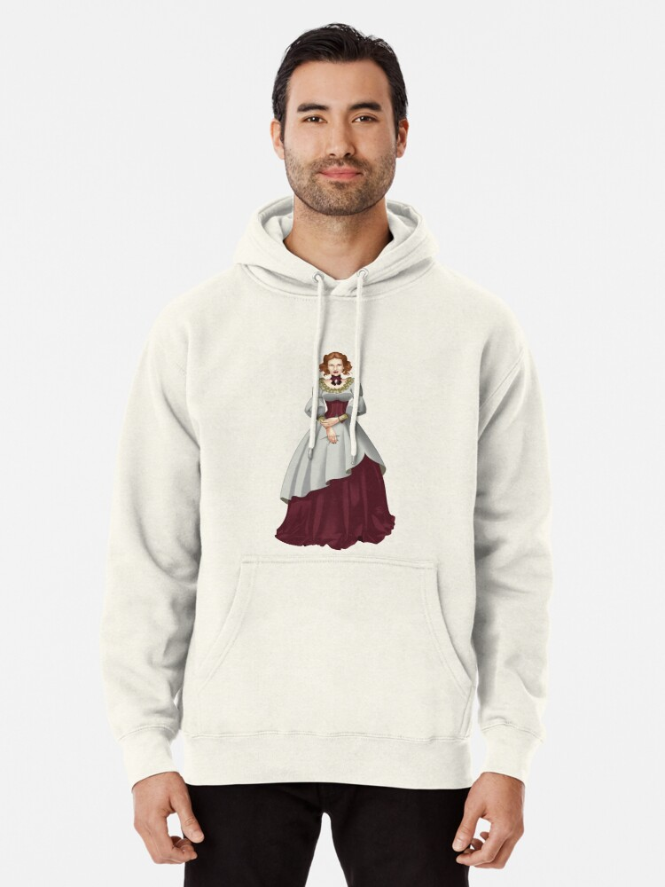 Alternate view of Alma Maristella - Voyager Witch of Retribution Pullover Hoodie