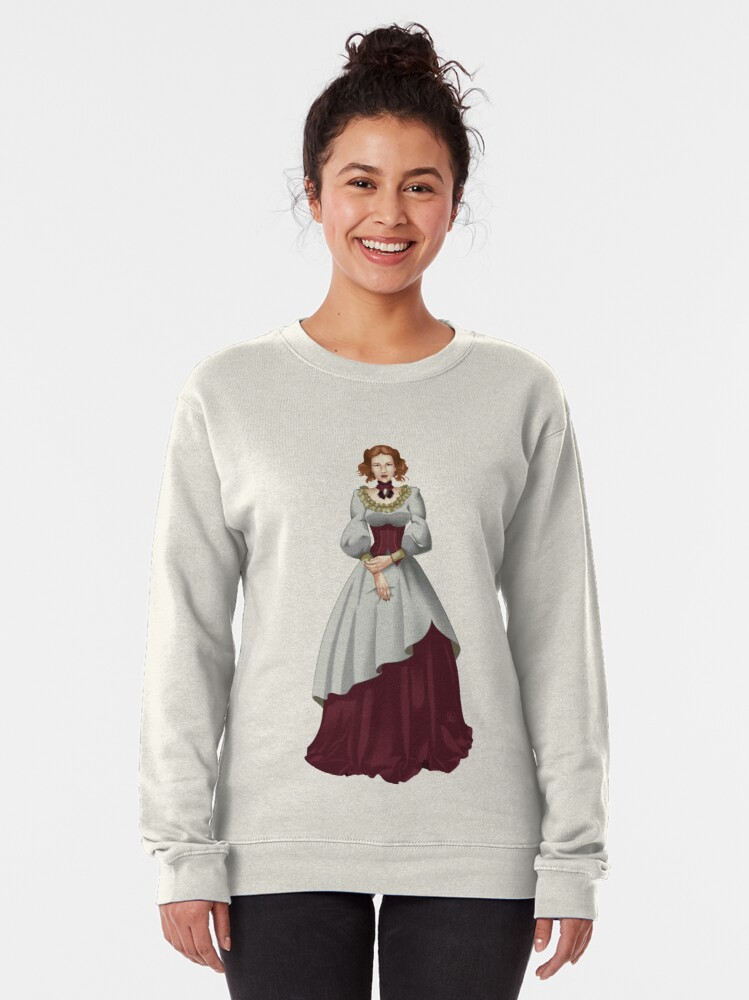 Alternate view of Alma Maristella - Voyager Witch of Retribution Pullover Sweatshirt