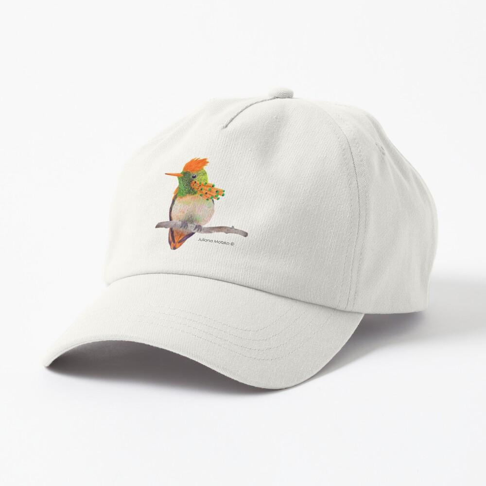 Tufted Coquette Hummingbird Cap