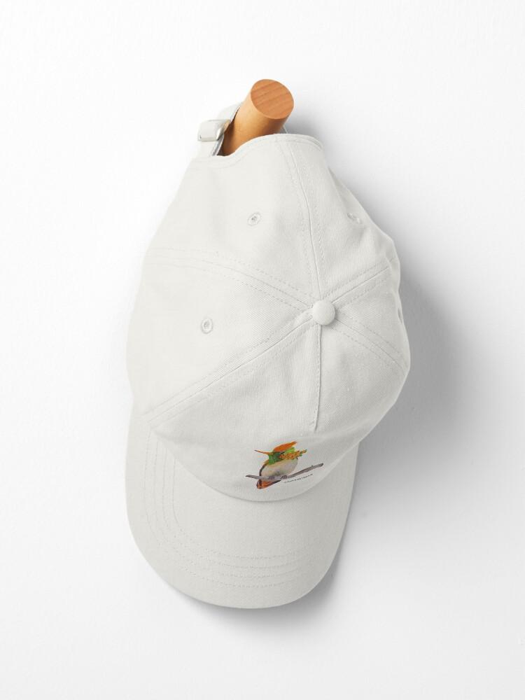 Alternate view of Tufted Coquette Hummingbird Cap
