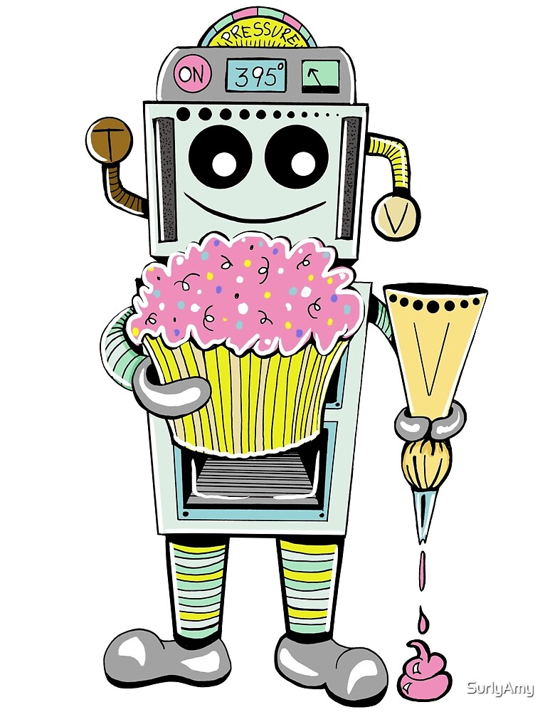 Birthday Cupcake Bake Bot by SurlyAmy