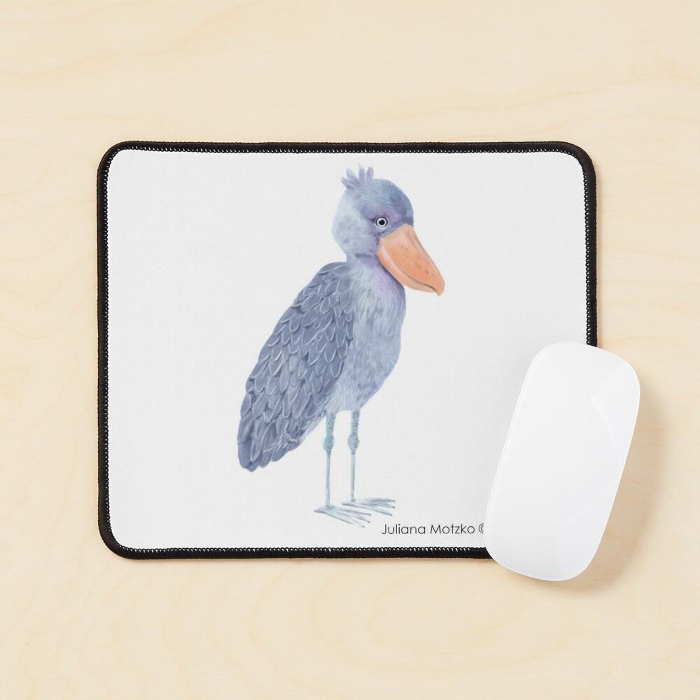 Shoebill Stork Mouse Pad