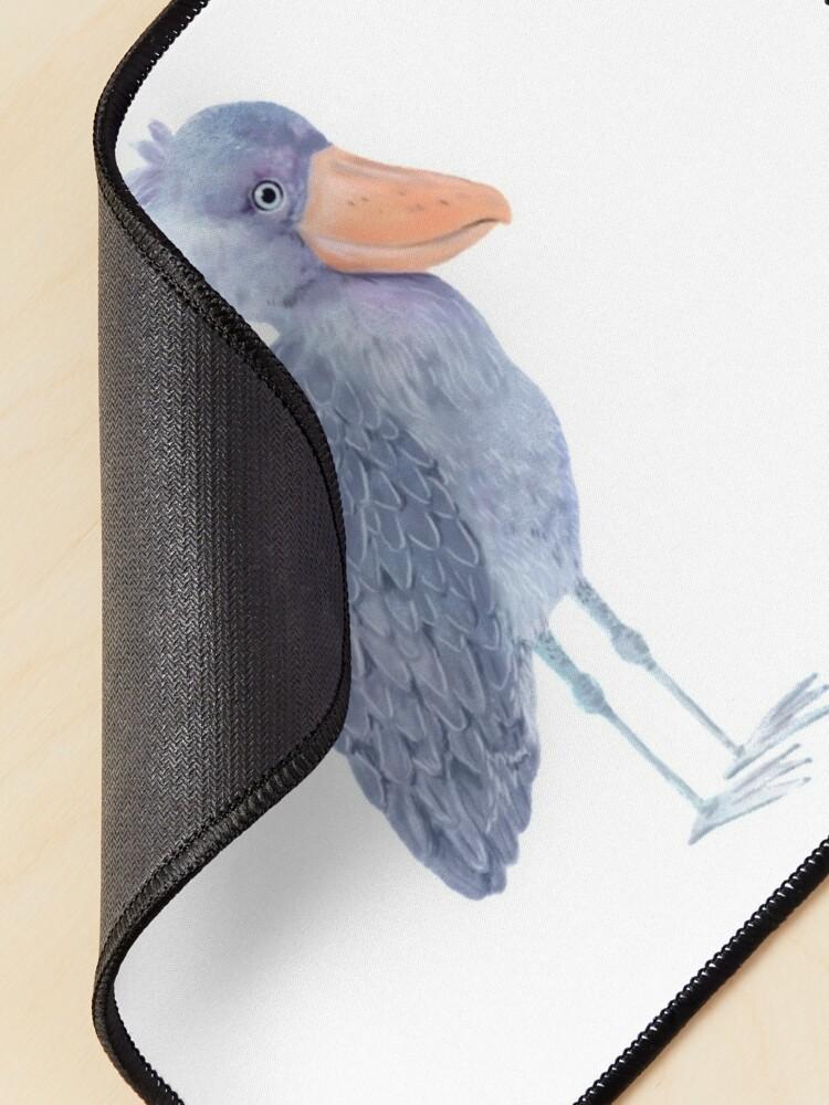 Alternate view of Shoebill Stork Mouse Pad