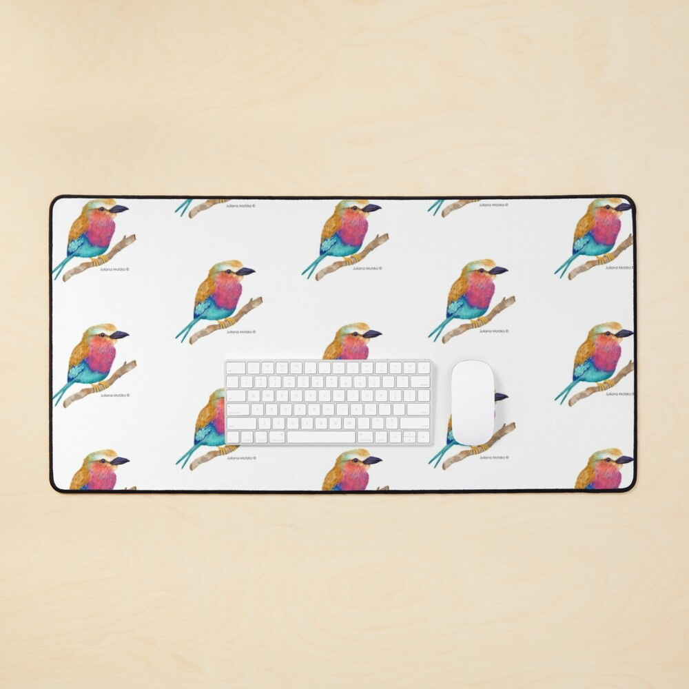 Lilac Breasted Roller Mouse Pad