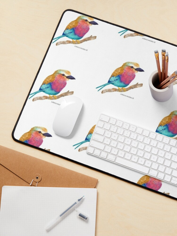 Alternate view of Lilac Breasted Roller Mouse Pad