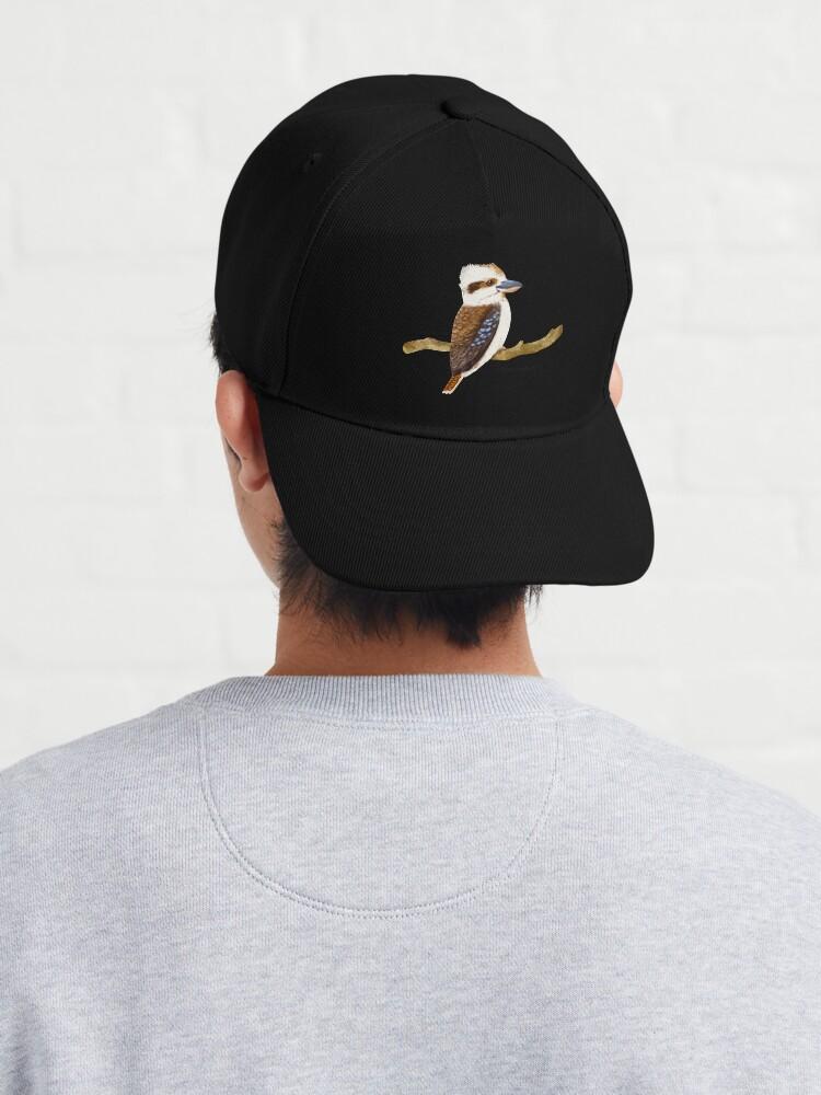 Alternate view of Kookaburra Bird Cap