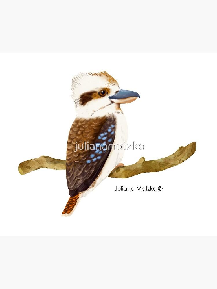 Kookaburra Bird by julianamotzko