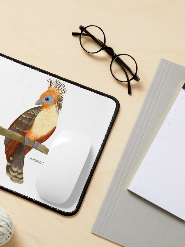 Alternate view of Hoatzin Bird Mouse Pad
