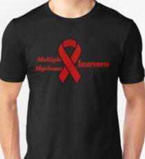 Multiple Myeloma Cancer Awareness Ribbon T-Shirt