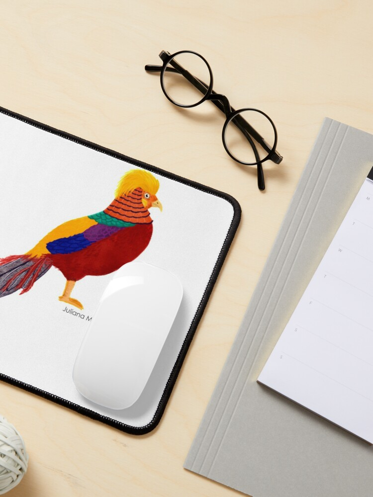 Alternate view of Golden Pheasant Mouse Pad