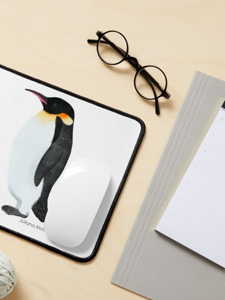 Alternate view of Emperor Penguin Mouse Pad
