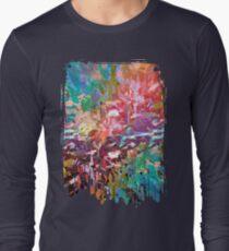 abstract 8/16 c Long Sleeve T-Shirt
