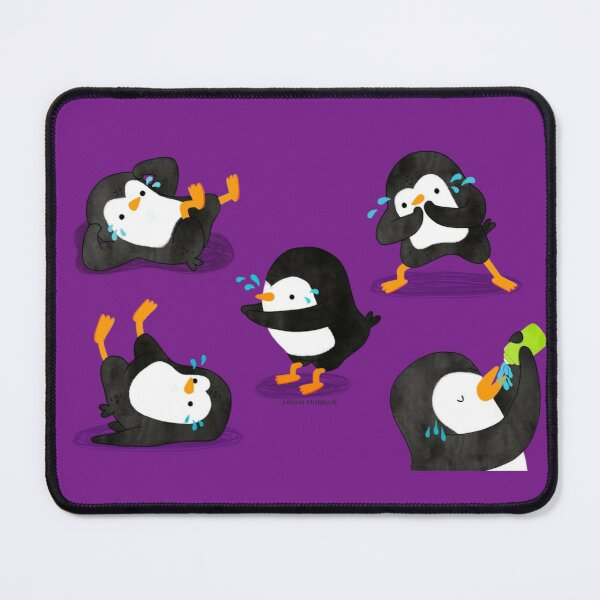Penguin Workout - 2 Mouse Pad