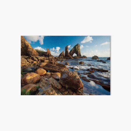 Evening Coastal Landscape Art Board Print