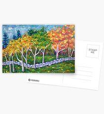 Fall Landscape Postcards