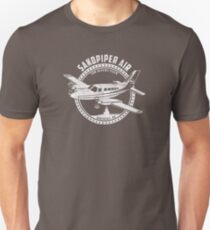 Sandpiper Air Shirt From TV Show Wings T-Shirt
