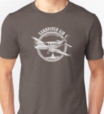 Sandpiper-Luft-Hemd von den Fernsehshow-Flügeln Slim Fit T-Shirt