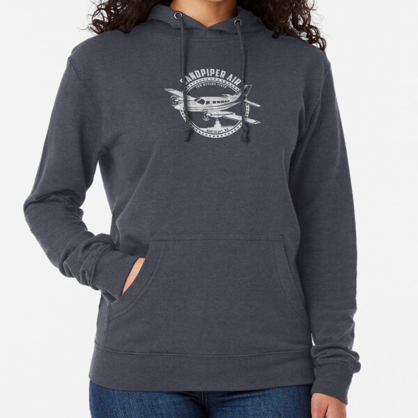 Sandpiper Air Shirt From TV Show Wings Lightweight Hoodie