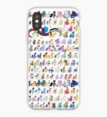 100 PONIES MEGA-PATTERN iPhone Case