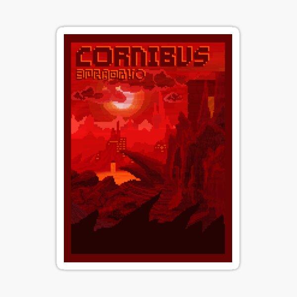 Cornibus Reiseplakat Sticker