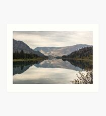 October on the Flathead Art Print