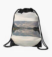 October on the Flathead Drawstring Bag