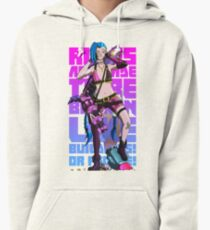 Rules are made to be broken, like buildings or people - Jinx Pullover Hoodie