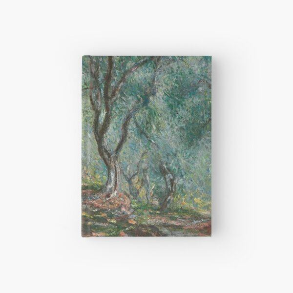 Olive Trees In The Moreno Garden Hardcover Journal