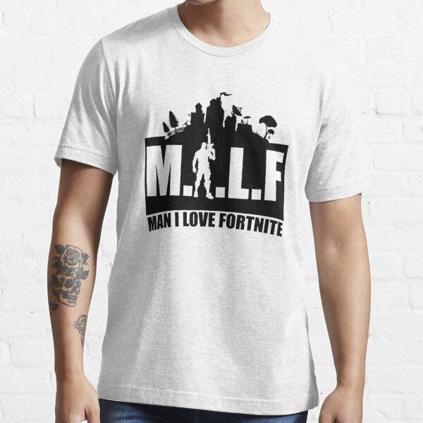 M.I.L.F Man I Love F.o.r.t.n.i.t.e Spiel Lustiger Sarkasmus Essential T-Shirt