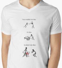 Service Dog PSA Men's V-Neck T-Shirt
