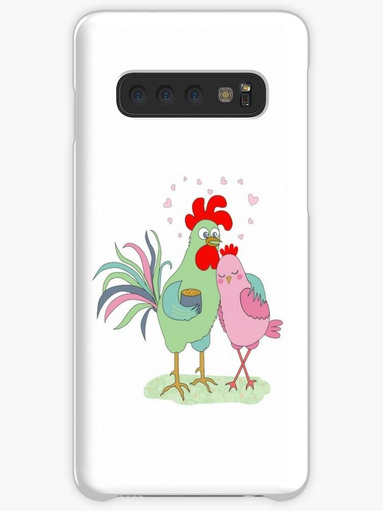 Fundas Y Vinilos Para Samsung Galaxy Polla Y Gallina De Dibujos