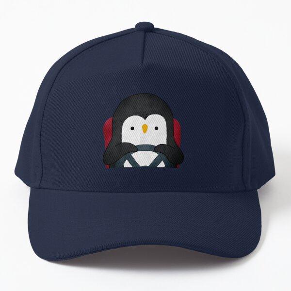 Penguin Driving Baseball Cap