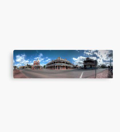 York Panorama Canvas Print