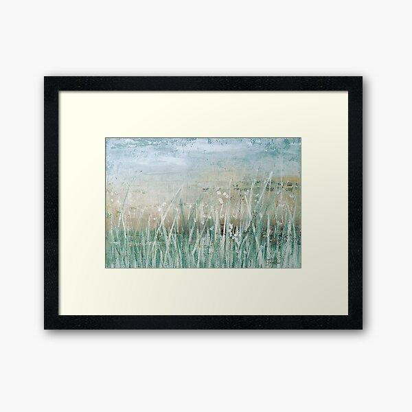 Grass Memories Framed Art Print