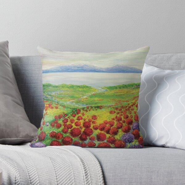 Harmonious Art Throw Pillow
