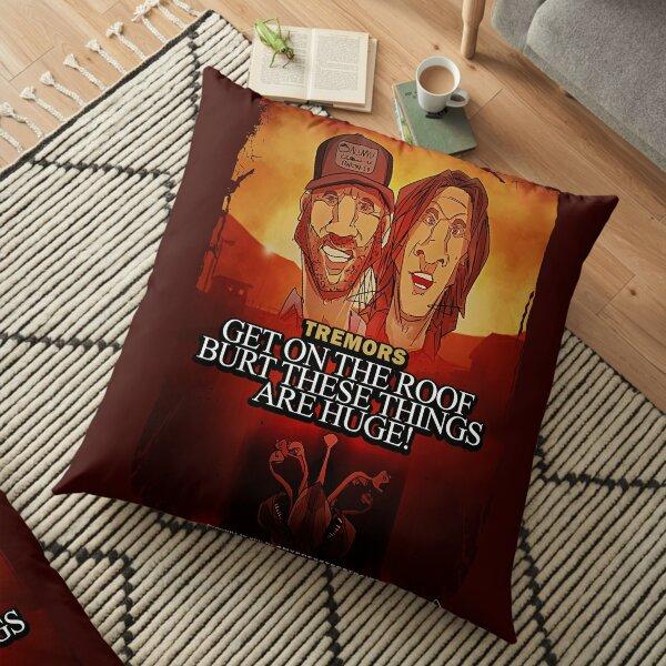 Tremors Floor Pillow